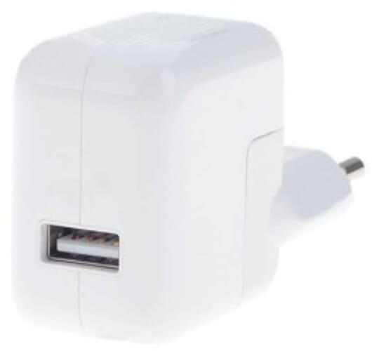 Apple USB Adapter 12W - Wit