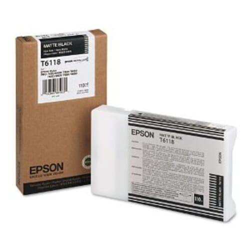 Epson T611800 Mat Zwart (Origineel)