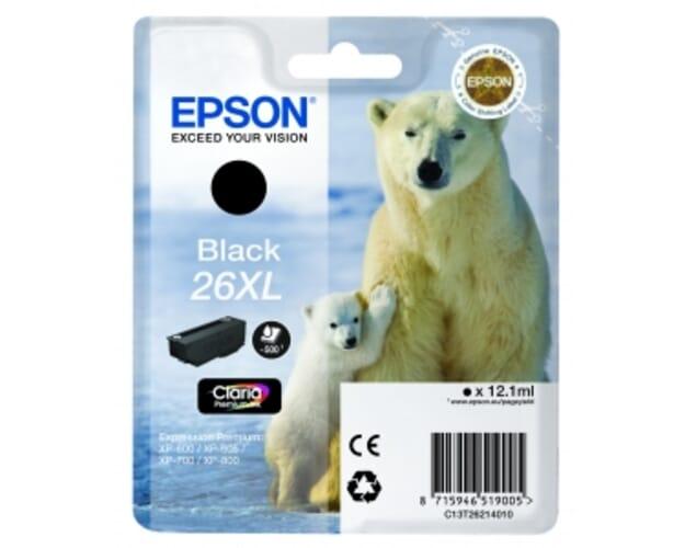 Epson 26XL / T2621 Zwart (origineel)