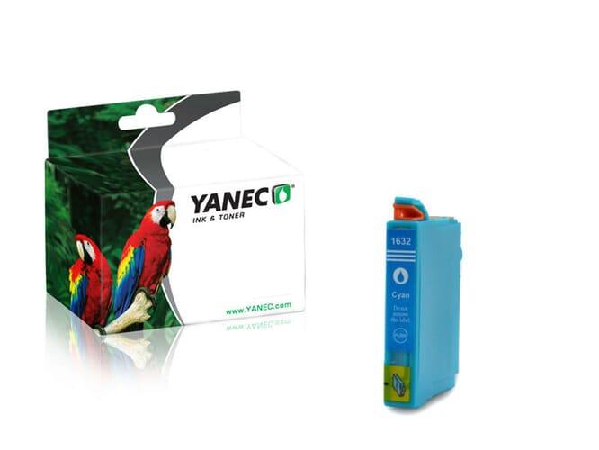 Epson 16XL / T1632 Cyaan (Yanec)