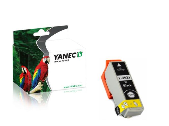 Epson 26XL / T2621 Zwart (Yanec)