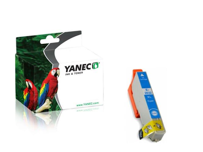Epson 26XL / T2632 Cyaan (Yanec)