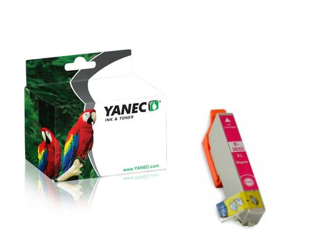 Epson 26XL / T2633 Magenta (Yanec)