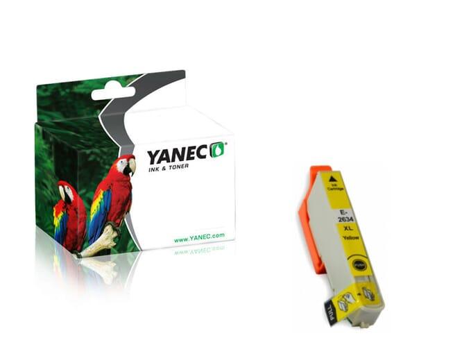 Epson 26XL / T2634 Geel (Yanec)