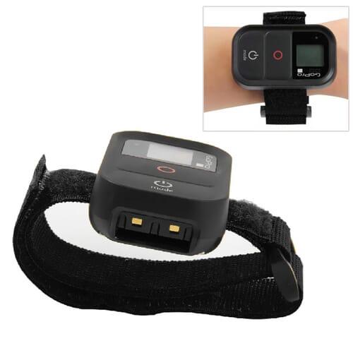 Blu-Basic GoPro Velcro Armband voor Afstandsbediening - Zwar