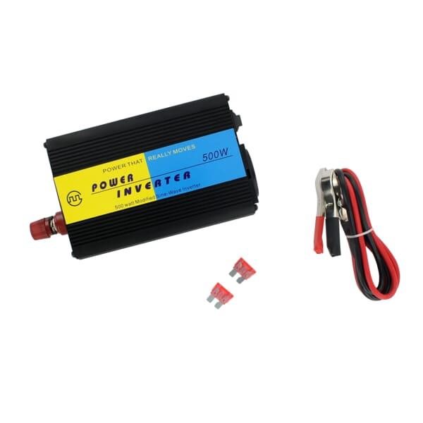DC/AC Omvormer 12V naar 230V (50Hz/800W Modified Sine Wave)