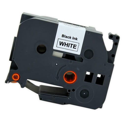 Yanec TZe-251 Tape Zwart op Wit 24 mm (Brother)