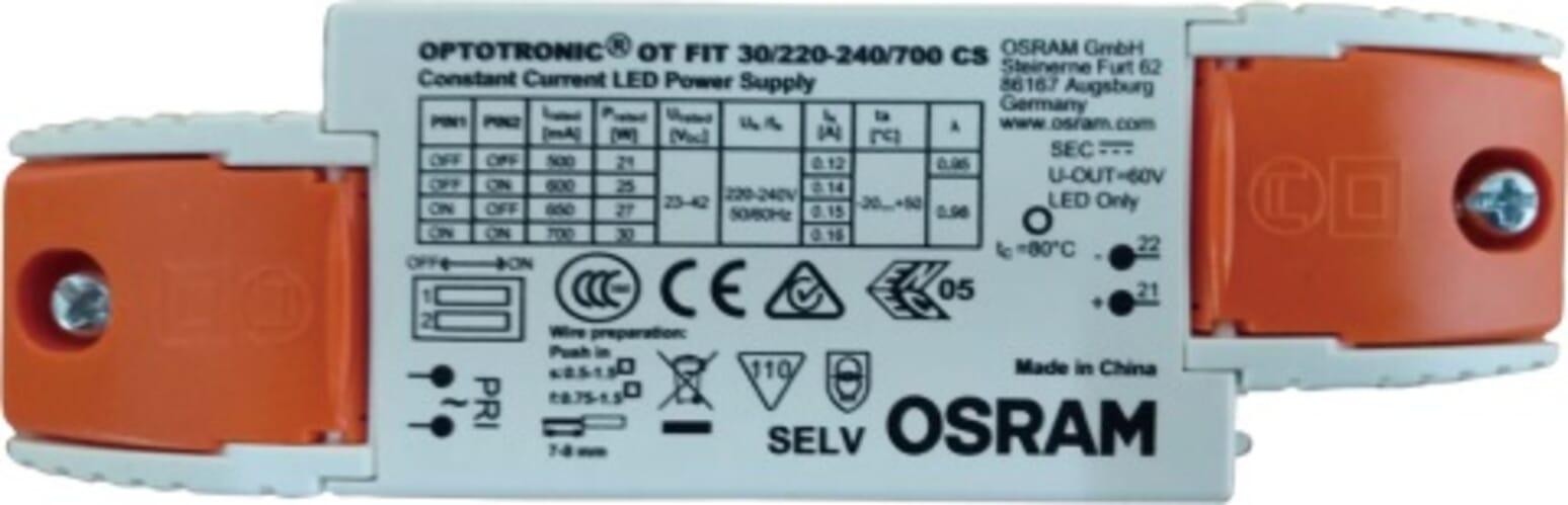 Osram Niet-Dimbare Driver geschikt voor LED panelen