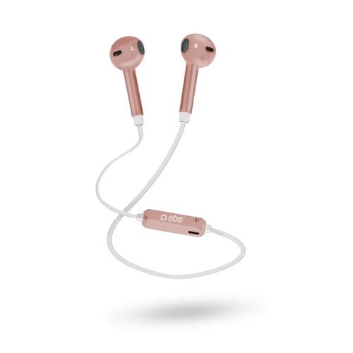 SBS Mobile BT700 Bluetooth In-Ear Koptelefoon - Rose Goud
