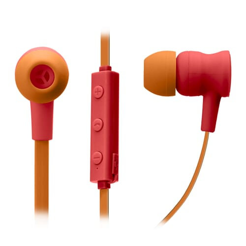 SBS Mobile POP Art Bluetooth In-Ear Koptelefoon - Rood