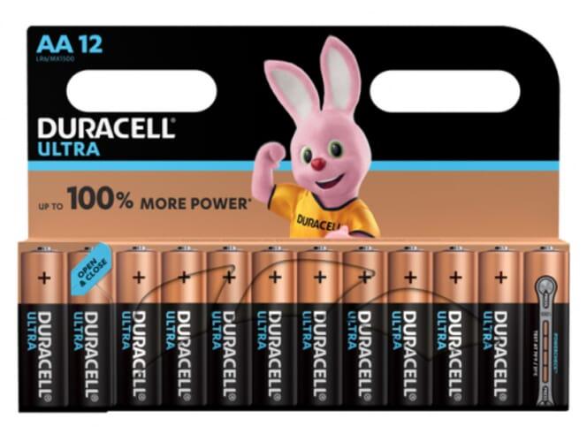 Duracell Ultra Power Duralock Alkaline AA/LR6 blister 12