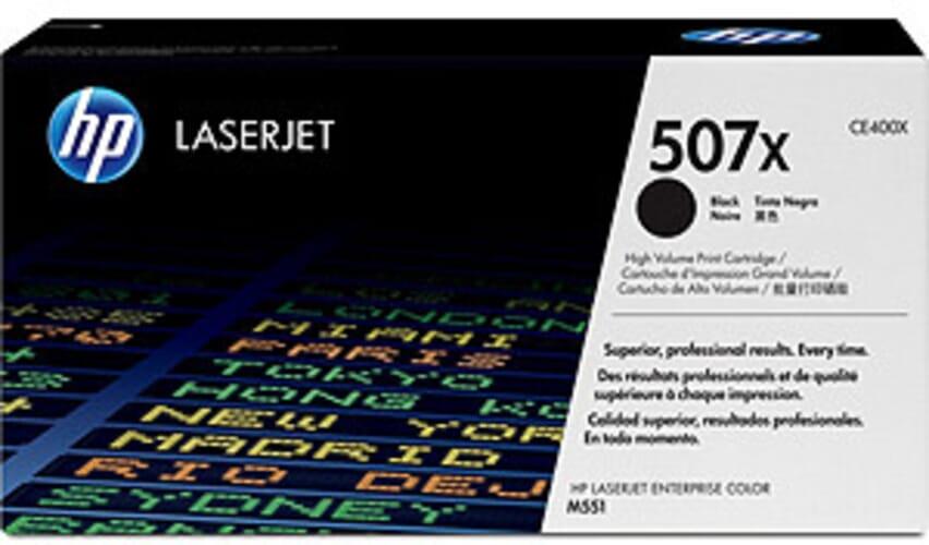 HP 507X XL Zwart