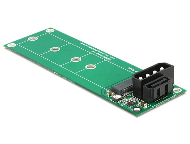 Delock Converter SATA 7 Pin > M.2 NGFF