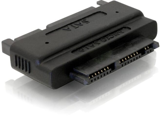 Delock Adapter SATA 22 pin > Micro SATA 16 pin