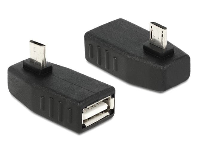 Delock Adapter USB micro-B male > USB 2.0-A female OTG 270