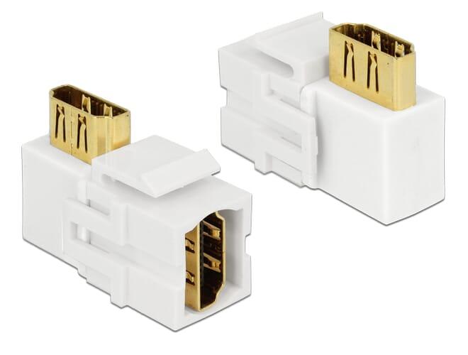 Delock Keystone Module HDMI female > HDMI female 90 angled w