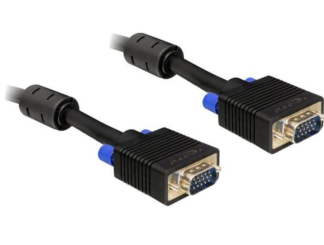 Delock Cable SVGA 2m male-male