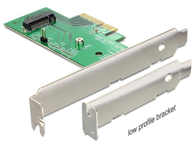 Delock 1x Intern M.2 NVMe PCI-E Uitbreidingskaart