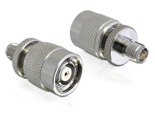 Delock Adapter RP-SMA jack > RP-TNC plug
