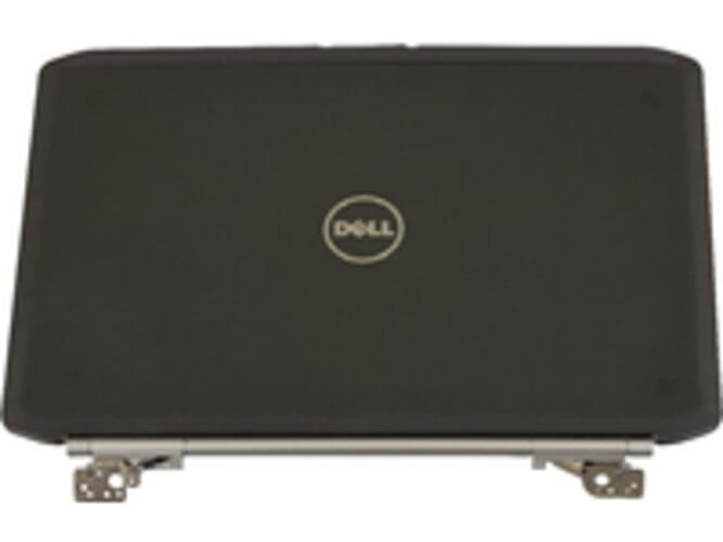 LCD Back Cover W Hinges