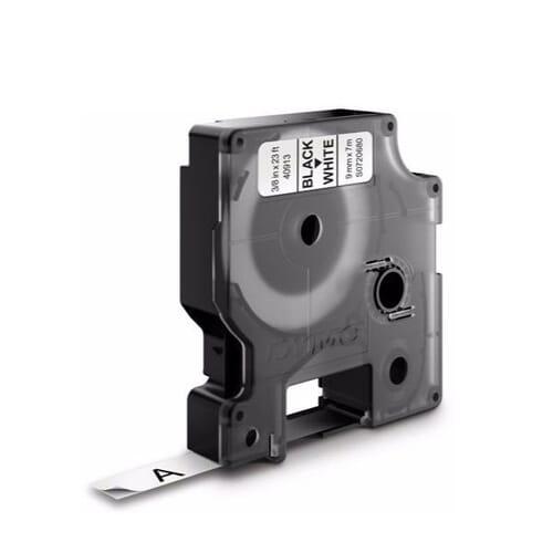 Dymo S0720680 Tape Zwart op Wit 9 mm