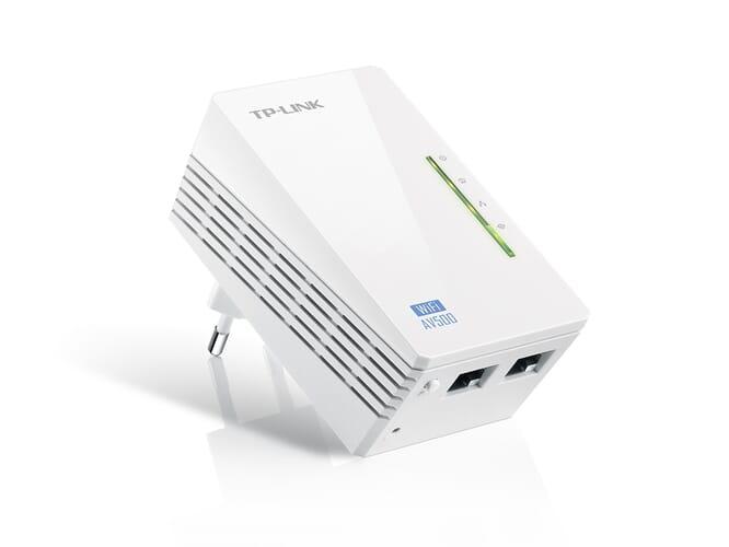 TP-Link AV500 300Mbps Wi-Fi Powerline Extender - Wit