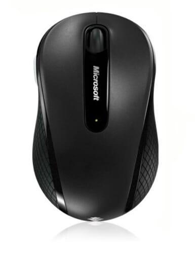 Microsoft Draadloze Optische/Laser Muis 4000 - Zwart