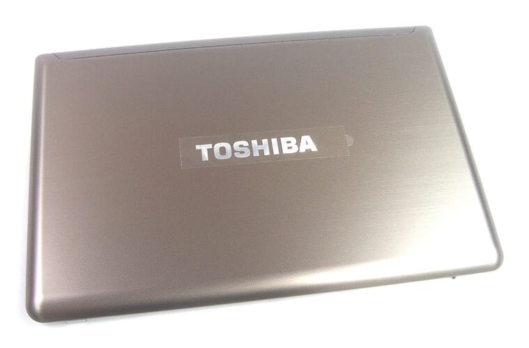 Toshiba Laptop LCD Backcover - Zilver