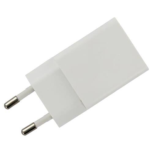 USB Adapter/Reislader 5V 1.2A 6W wit