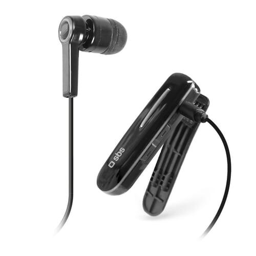 SBS Mobile Multi-Point Bluetooth In-Ear Koptelefoon - Zwart