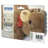 Epson T0615 Schwarz und Farbe (4 Pack) (Original)