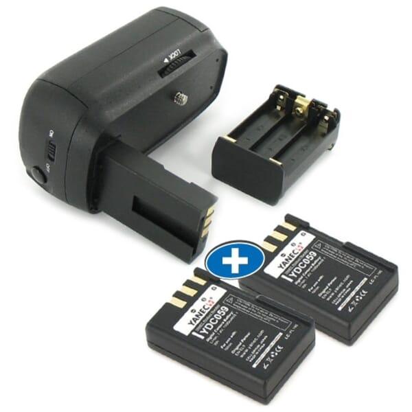 Battery Grip Nikon BP-D60 + 2x Yanec EN-EL9