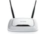 TP-Link TL-WR841N 300Mbps Draadloze N Router - Wit voor Toshiba Satellite L670D-120