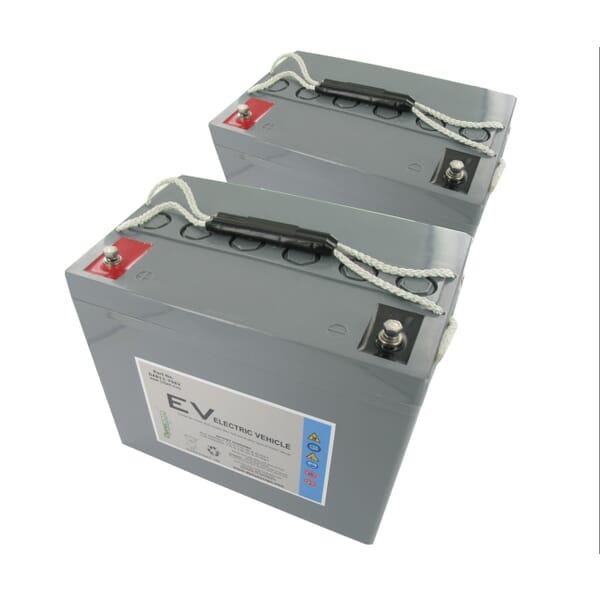 Dyno AGM Accu 70Ah Vervangingsset (Excl. Kabels) voor Sunrise Medical Sterling Elite 2 Plus