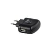 USB Adapter 5W Zwart 5V - 1A