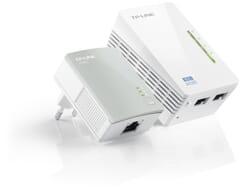 TP-Link AV600 Wi-Fi Powerline Extender Starter Kit - Wit