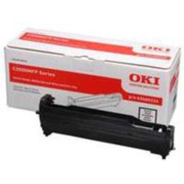 OKI 43460224 Black Image Drum for C3520/C3530 MFPs
