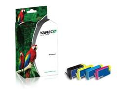 HP 364XL Schwarz und Farbe (4-Pack)(Yanec)