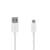 USB2.0 A naar Micro USB2.0 B Kabel 1 Meter - Wit