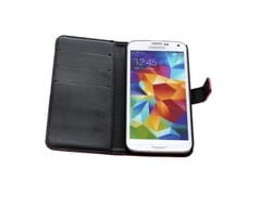 Jibi Book Case Pink for Galaxy S5 Triple Protect