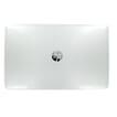 HP Capot arrière LCD noir argenté brillant