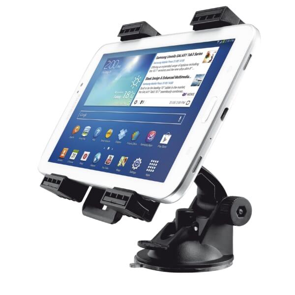 Trust Autohouder voor 7-11 inch Tablets - Zwart