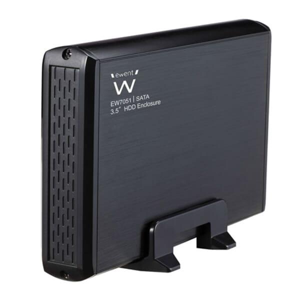 Ewent USB 2.0 Externe behuizing 3.5 inch SATA