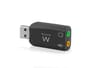 Ewent USB Geluidskaart 5.1 Virtual 3D voor Toshiba Satellite L670D-120