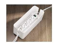 Hama Maxi Cable box - Weiss