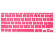 Macbook 12 Inch Toetsenbord Skin Cover (Roze)