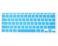 Macbook 12 Inch Toetsenbord Skin Cover (Licht Blauw)