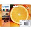 Epson 33XL / T3357 Zwart en Kleur (5-Pack)(Origineel)