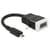 Delock Adapter HDMI-micro D male > VGA female with Audio