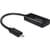 Delock Samsung MHL Male naar HDMI + Micro-USB Female Adapter